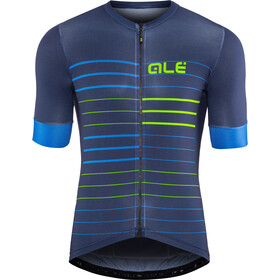 Alé Cycling Solid Ergo Maillot manches courtes Homme, blue-flou green